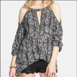 Free people good morning cold shoulder sz. S